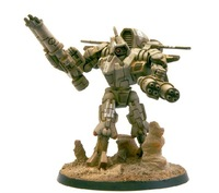 Forge World  TAU XV9 WITH TWIN-LINKED BURST CANNON   Resin Models Free Shipping