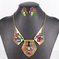 MS17121 Hot Sale Fashion Jewelry Sets Classic Design Woman's Necklace Sets High Quality New Arrival   Party Gifts
