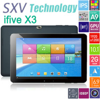 "Tablet PC Ifive x3 with 10.1"" FHD IPS screen Android 4.2 Rockchip rk3188 Quad Core 1.6GHZ CameraS  Back 5.0MP 2GB 32GB BT HDMI"
