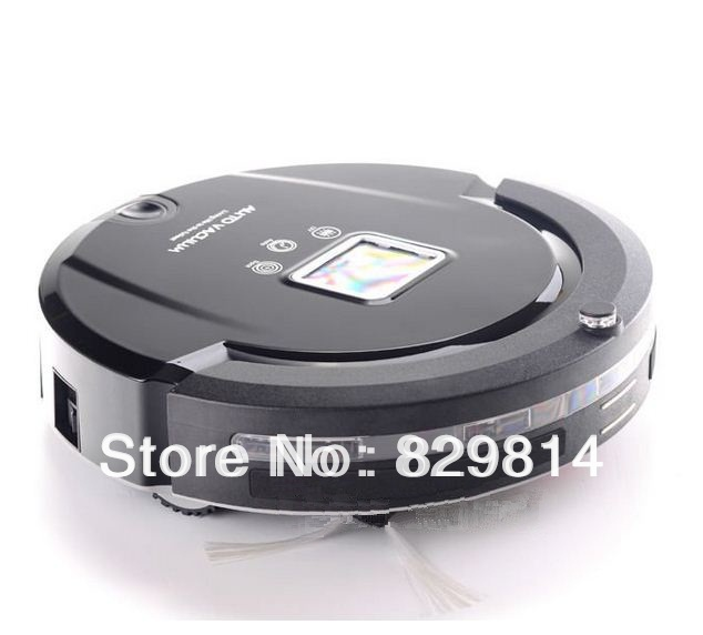 4 in 1 Super Robot Vacuum Cleaners Portable industrial Cleaning Machine Black Sweeper for Floor Carpet Decker Best Selling(China (Mainland))
