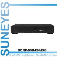 SunEyes P2P 4ch/8ch/16ch NVR Network HD Video Recorder 720P/1080P ONVIF 1080P HDMI Output 1U SP-NVR-E04/SP-NVR-E08/SP-NVR-E16