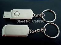 USB  Flash Drive 8GB 16GB 32GB 64GB Pen Drive Metal Stainless Steel Rotating Usb 2.0 stick  Memory Sticks PenDrive