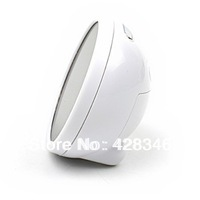 1pc Free Shipping Glass Crystal LED alarm clock, mirror style table clock, creative alarm clock,LED clock CWK010