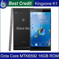 2014 New Original Kingzone K1 MTK6592 1.7GHz Octa Core 5.5 inch 3G Smart Phone RAM 2GB ROM 16GB WCDMA Black white/Kate