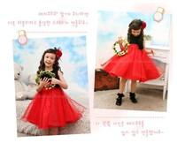 Retail+Free shipping,Baby girls dresses princess baby Girl spring set,kids dresses for girls,baby girls clothing,HOT,SA0049R