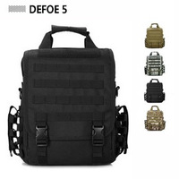 2014 Messenger Shoulder Cross Body Tote Bag Molle Woodland Sustainment Multi-functional Advance Army Durable Tactical Backpack