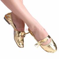 Supernova Sale New 2014 Gum Outsole Belly Dance Shoes Bellydance Women Ballet Dancing Shoes Yoga Cotton Comfortable Canvas BE