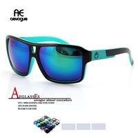 Retail 2014 Newest brand Sports Sunglasses men Multicolor lens Sun Glasses espiao gafas/oculos de sol AE0072