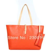 Korean version of casual large purse shoulder bag&handbag