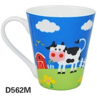 New Lovely Cartoon Animal Patterned Mugs for Kids Coffee Cups  Six Pattern Options  Bone Ceramic Material Mugs Lovely Gift