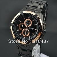 Relogios New 2013 Fashion Luxury Brand Curren Men Sports Military Wrist Watch With Full Steel  Watch