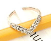 New 2013 Sliver Plated Vintage Jewelry Rings Gold Ring Aneis Acessorios Christmas Valentine Gift Wholesale Lot J11-1