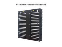 P16 Outdoor Rental Mesh LED Screen , Outdoor Strip LED Display ,including control system(China (Mainland))