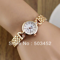 JW-0041 New!Designer Ladies Dress Quartz Watch,Fashion Stainless Steel Wrap Watch,Stylish Girl Bracelet Watch 50pcs/lot,