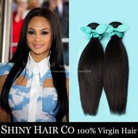 5pcs/lot Grade 6A Peruvian Virgin Hair Straight Human Hair Weave Bundles Unprocessed Peruvian Straight Virgin Hair Extension