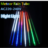Christmas Snowfall Tube 60cm Meteor Rain Led Tube Light AC220-240V Free Shipping
