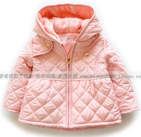 Free Shipping Children's Clothing Winter Wadded With A Hood Outerwear