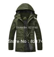 2014 new men's cotton plus fertilizer  5XL 6XL 7XL plus size long section detachable cap padded winter jacket men Outerwear coat