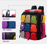 Jiugongge the rucksack Canvas backpack men travel bags duffel bags luggage travel bags women shoulder travel bags weekend bag