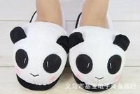 2013 New Women Men Unisex Kids Cute Cartoon Couples Panda Style Winter Warm  Cotton Slippers Male Female YXQ-S10