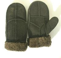 Free shipping! Man hot-selling  narural sheep skin  mittens ,    fashion  man winter mittens