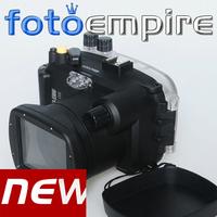 New 40M 130ft Waterproof Underwater Diving Camera Housing Case For Sony Nex7 18-55mm Lens DSLR Camera