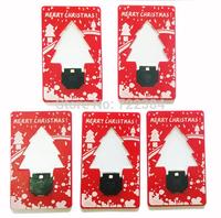 Free Shipping 20pcs/lot Merry Christmas Gift & Christmas Tree Shape Led Lamp & Christmas Tree Led Light