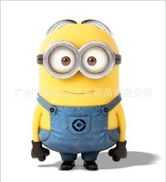 Free shipping Car decoration 3 m sticker despicable me lovely yellow personality Minions funny sticker 1