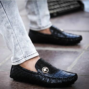 2014 nuovo migliore qualità in vera pelle uomini appartamenti casual mocassini scarpe morbide scarpe da ginnastica guida confortevole scarpe spedizione gratuita, b-23