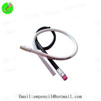 Customized 30cm white soft pencil LH-408