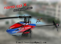 WASP NANO CPX 3D brushless RTF 2.4Ghz 6CH mini rc helicopter