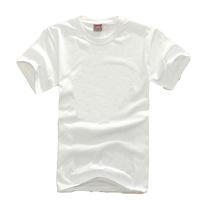 Cotton Blank white T-shirts Men's short-sleeved shirt spot wholesale nightwear