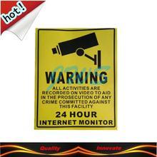 warning sign sticker promotion