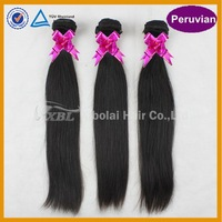 Peruvian virgin hair free shipping grade 5A+ unprocessed 100% human hair wefts for silky straight