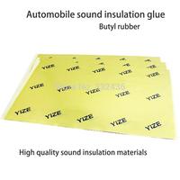 2013Hot sale!! YIZE Automotive Sound deadener Deadening Insulation Cars product butyl rubber 46*30*0.2cm 1Sheets