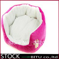 20pcs/lot cat dog kennel pet house warm sponge bed cushion basket BG1695