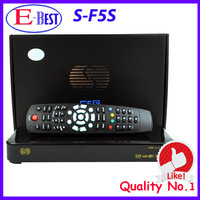 2pc/lot Original Skybox F5 skybox F5s 1080P Full HD Dual-Core CPU Satellite Receiver Similar To Skybox F3S Free Shipping