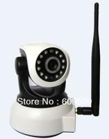 Network Dome FREE SHIPPING Night Vision WPA Internet wifi wireless ip camera