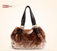 2013 Christmas Gift Furly Genuine Leather  Women Handbags Shoulder Bags K914