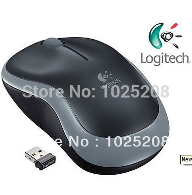 Free Shipping New Logitech Wireless Mouse M185 Swift Grey For PC MAC 1 Year Battery Life(China (Mainland))