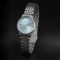 New 2014 Hot Sale Ladies Quartz Full Steel Women Dress Watches Gift For Woman Blue Pinkrelogios feminino fashions 026A