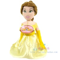 "Princess doll plush toys Beauty and the Beast Princess Belle plush doll 12"" Kneeling stuffed soft kids toys dolls for girls"