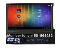 Newest 1 Din Car Radio With DVD Player GPS Navigator Wifi 3G IPOD TV PIP Play store Free 4GB SD Card+Wifi Dongle 8600A