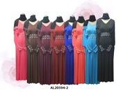 Free shipping fashion muslim dress abaya muslim clothing for women AL20594-2
