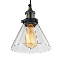 Vintage Industrial Edison Pendant Light Iron Body Glass Lampshade ikea Decoration Lighting Rustic Loft/Coffee/Bar/Kitchen Lamp