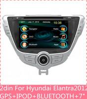7 inch touch screen 2 din car dvd player gps Navigation for Hyundai Elantra GPS RADIO RDS DVD MP3 BLUETOOTH A2DP C7095HE