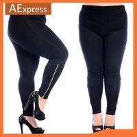 New Arrival Autumn Plus Size Leggings for Women, High-Waist Elasticity Legging, XL, XXL, XXXL, P-087