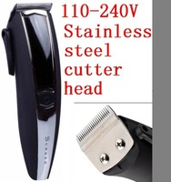 110V-240V Rechargeable Electric Professional Hair Cutter Clipper Trimmer Shaver for Men Child Hair Cutting Machine Barber Razor