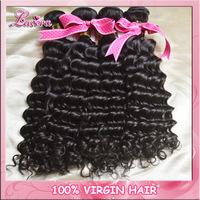 peruvian curly Virgin human hair extension,100% 6A peruvian deep wave unprocessed virgin hair weave queen hair products