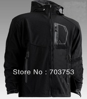 2015 Top Freeshipping Active Mens Jackets And Coats Men Winter Jacket Wholesale - New Men Hooded Windstopper Softshell Jacket
